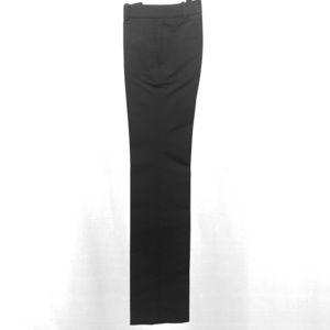 Chloe Black Pinstripe Textured Dress Pants